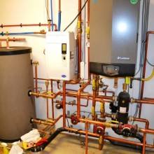 High Efficiency Modulating Condensing Boiler Systems