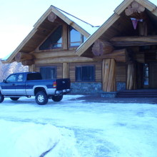6000 Sq. Ft Custom Log Home