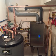 High Efficiency Boiler Installation teamed with Indirect Water Heater
