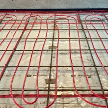 In Floor Radiant Heating